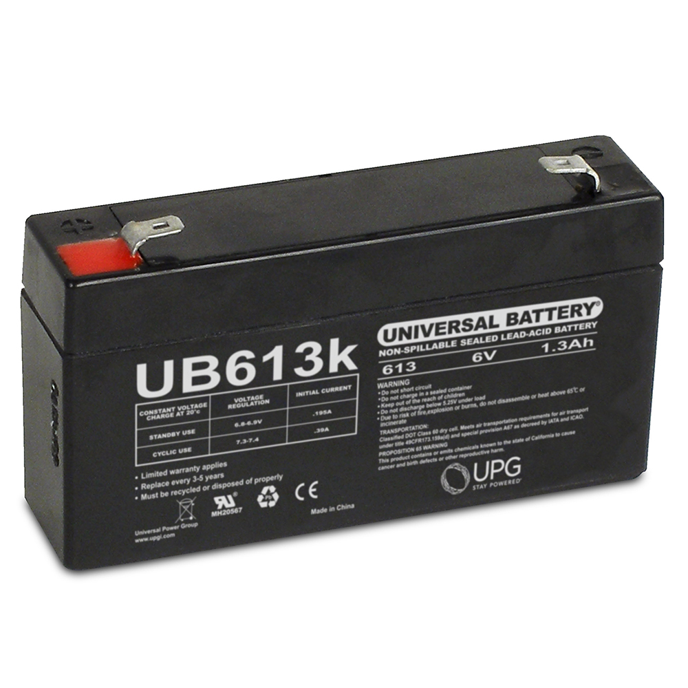 CSB GP613 6V 1.3Ah UPS Battery - This is an AJC Brand® Replacement