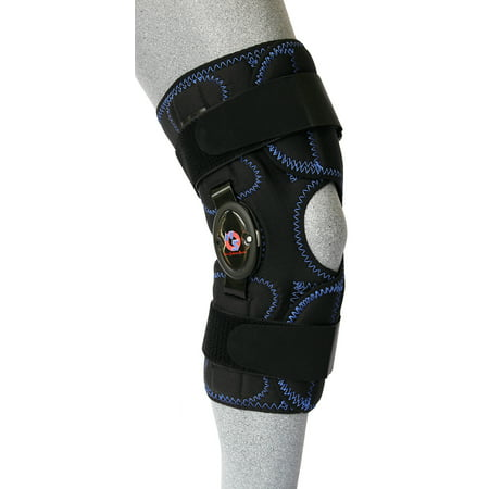 Knee Flexion Extension - New Options Sports Knee Mate™ Koolflex Wrap Around Uncovered 1832 hinge with flexion and extension stops brace| Made in USA