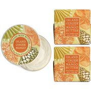 Madame Earth Island Ginger and Mango Botanical Spa Soap and Body Butter Set