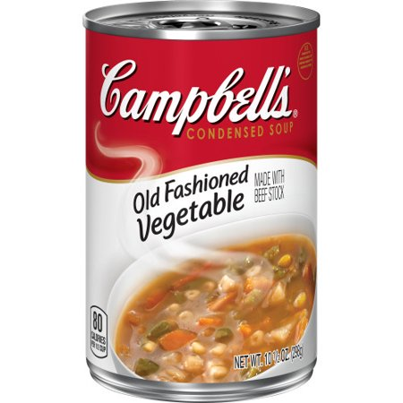 Campbell'sCondensed Old Fashioned Vegetable Soup, 10.5 oz. (Old Cans)