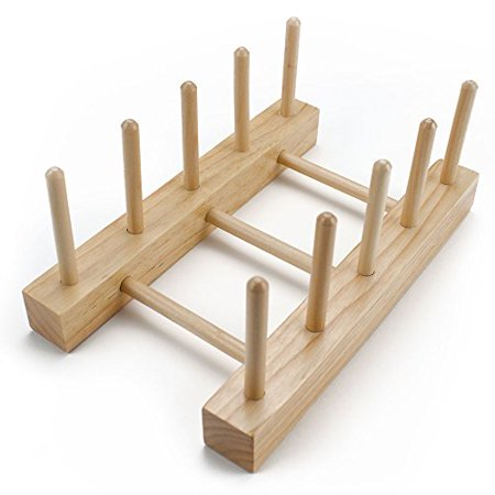 Imagination Generation Professor Poplars Wooden Puzzle Board Display Stand Holds 4 Puzzles