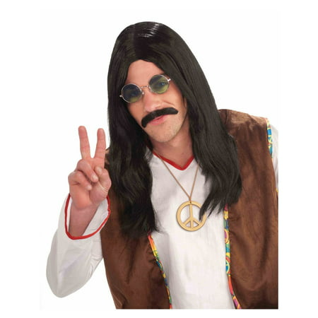 Unisex Hippie Adult Halloween Costume Accessory Wig