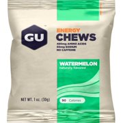 GU Energy Chews: Watermelon, Box of 24