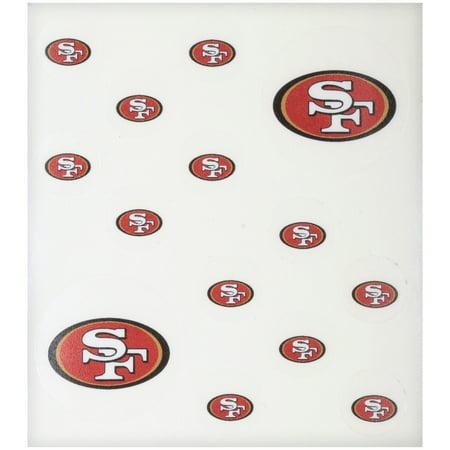 NFL San Francisco 49ers Peel & Stick Nail Tattoos 14 ct Pack](Nail Cross Tattoos)