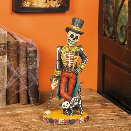 Day of the Dead Vintage Skeleton - Halloween Decor, This Day Of The Dead Skeleton makes a great addition to your Día de Muertos celebrations. By - Addition Worksheets Halloween