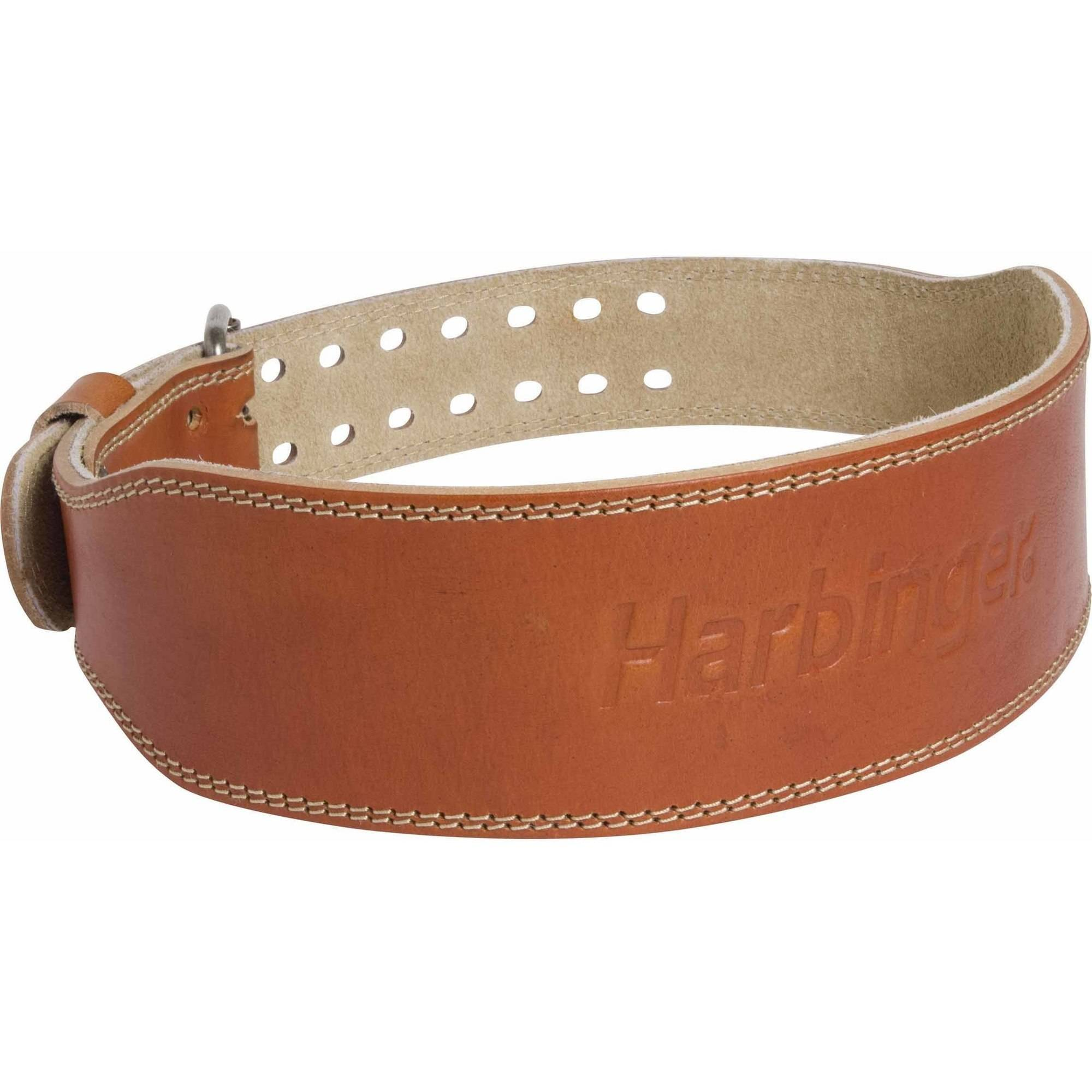 harbinger 4 quot classic leather belt walmart