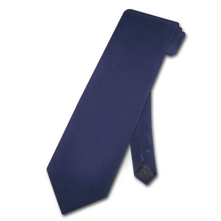 Antonio Ricci 100% SILK NeckTie NAVY BLUE Crepe de Chine Men's Neck Tie