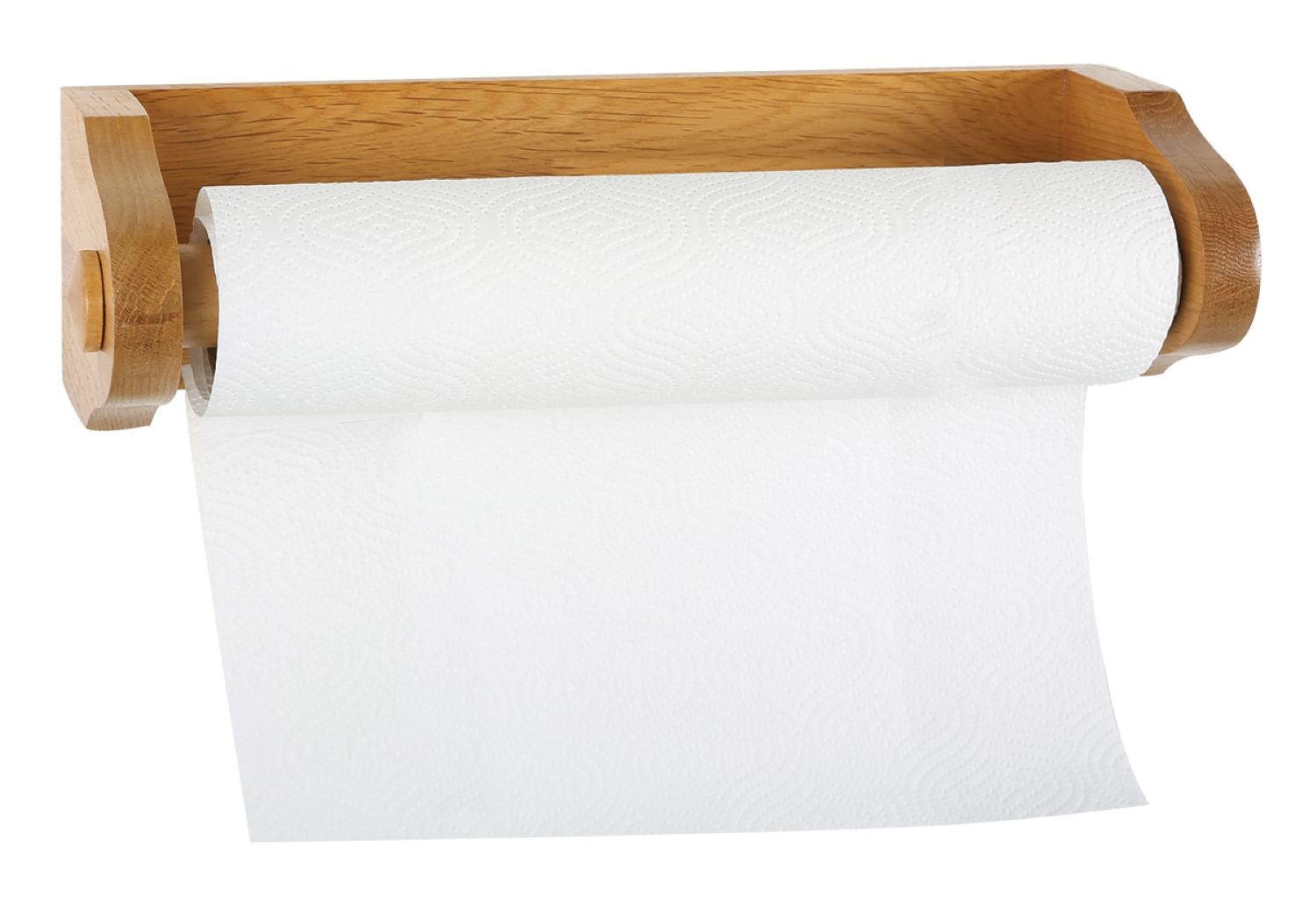 Design House 561233 Dalton Rustic Paper Towel Holder For Kitchen Laundry Room Honey Oak Walmart Com Walmart Com