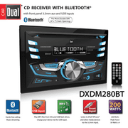 Best Car Stereos - Dual Electronics DXDM280BT Double DIN Car Stereo | Review