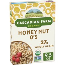 Breakfast Cereal: Cascadian Farms Honey Nut O's
