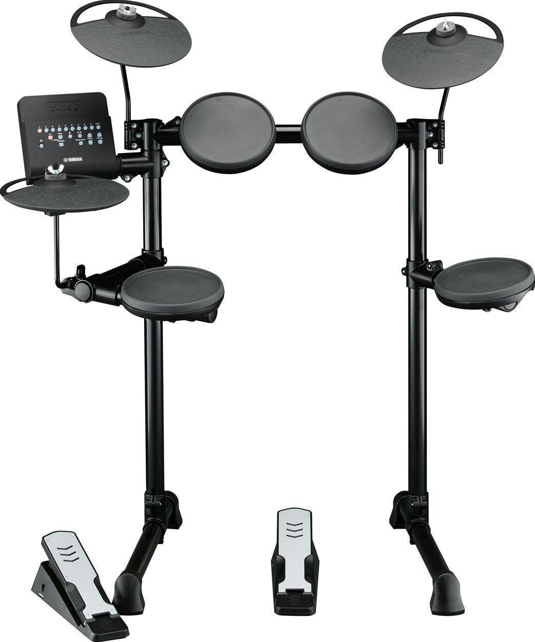 Yamaha DTX400K Electronic Drum Kit Set w Beginner Training & Practice Modes by Yamaha