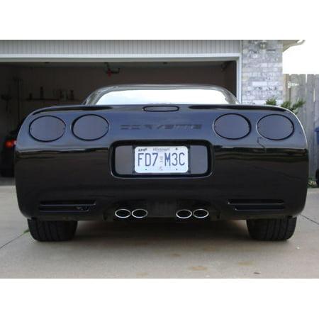 - C5 Corvette 1997-2004 Acrylic Rear Blackout Kit - 7-Piece Set