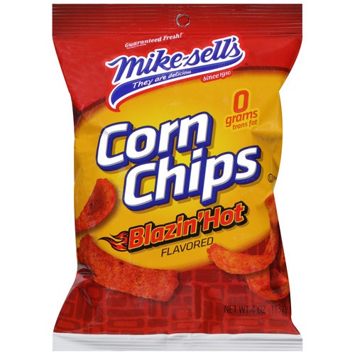 Mike Sells Hot Corn Chips 4.0 Oz