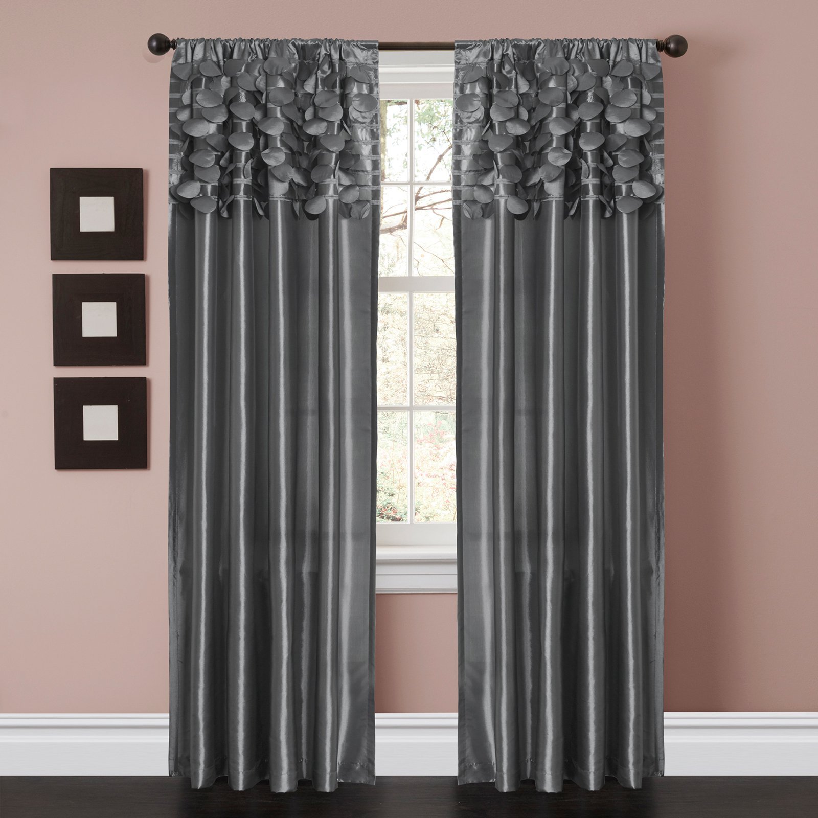 Circle Dream Window Curtains, Pair - Walmart.com