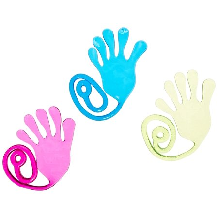 Ja-Ru Sticky Stretchygiant Snap Hand Party Favor Bundle Pack, Stretch your giant hand to grab things! Fling your giant hand to reach items! By JaRu