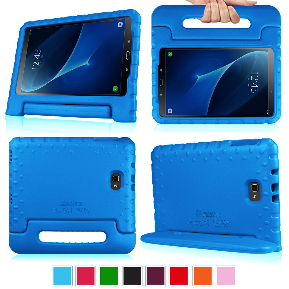 Fintie Samsung Galaxy Tab A 10.1 SM-T580/T585 Tablet Case - Lightweight Shock Proof Convertible Handle Cover, Blue