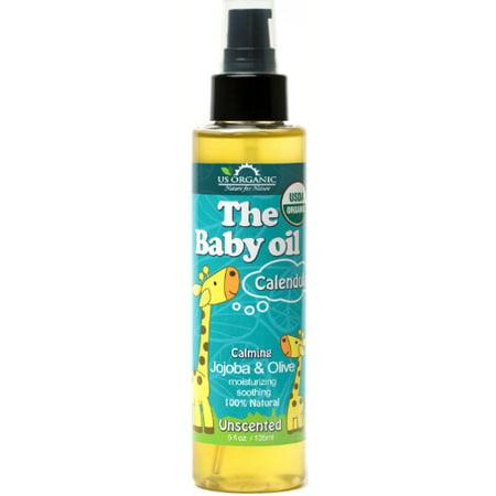 Calendula Body Oil (US Organic Group Calendula Baby Oil, Unscented, 5 Oz)