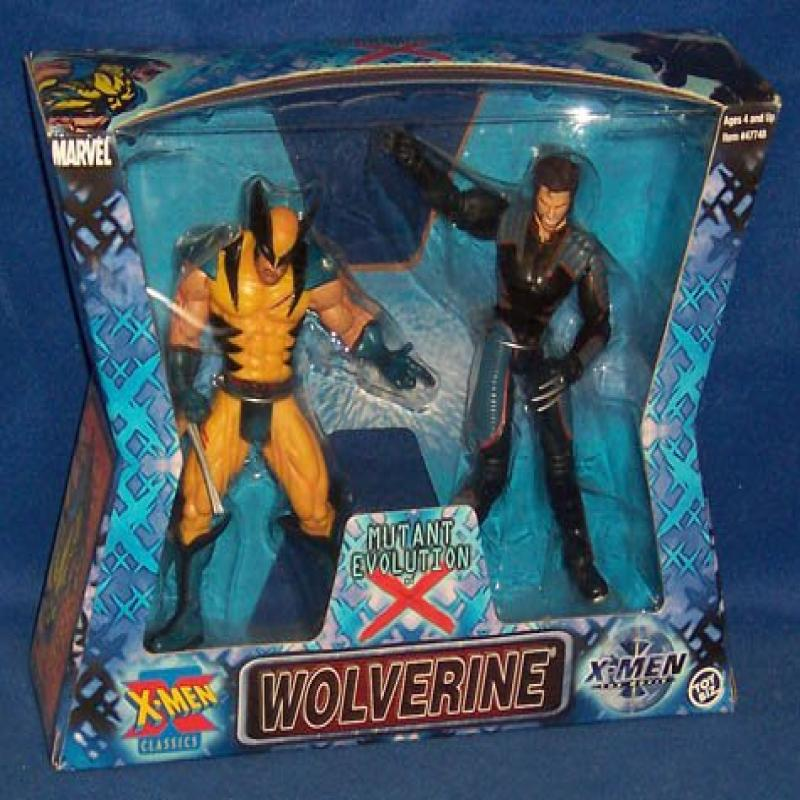 X-Men Classics Mutant Evolution of Wolverine by