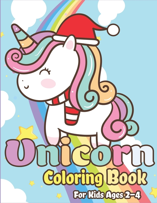 Set of 2 Different Girls Princess Color Activity Books Pretend and Play Unicorn Coloring Books for Kids Ages 4-8
