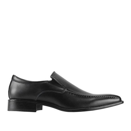 Joseph Abboud Lawrence Black Men's Slip-On Dress Shoes OSsfEU