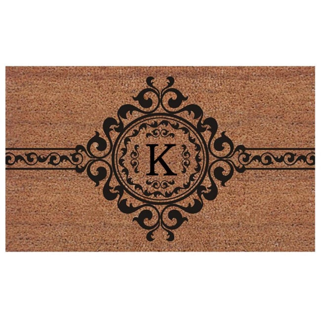 Momentum Mats Handmade Garbo Extra-thick Monogrammed Doormat (2' x 3') by Supplier Generic