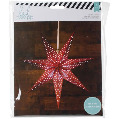 """Heidi Swapp 7-Point Star Paper Lantern, 18"""""""