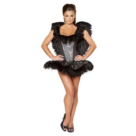 Diy Black Swan Halloween Costume (2 Piece Sexy Swan Costume)