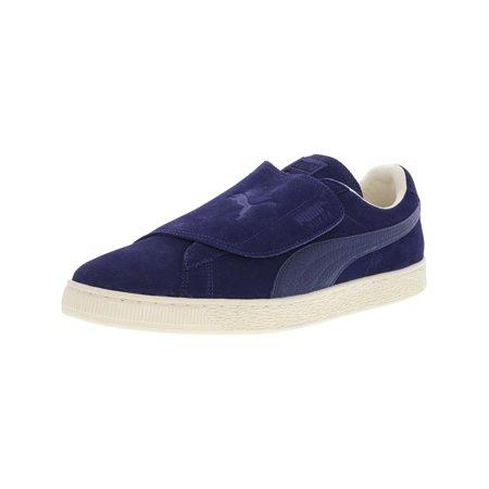 Puma Men's Suede Wrap Color Blocked Blue Depths / Fashion Sneaker - 13M ()