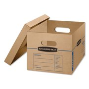 Best Book Boxes - BANKERS BOX 7714209 Classic Small Moving Boxes,PK15 Review