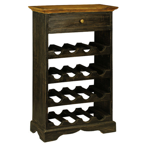 Antique Revival Auburn 16 Bottle Wine Rack