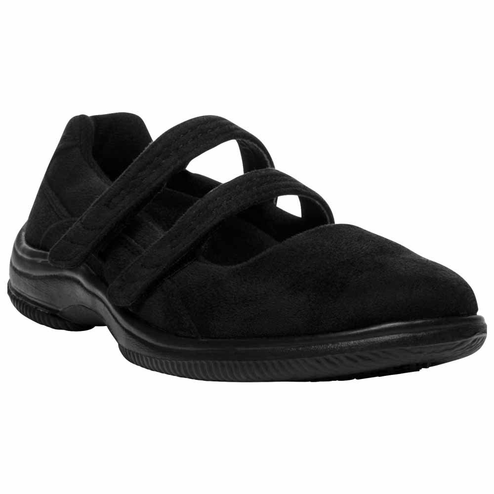 Propet Bilite Casual Women's Black Velour by Propet
