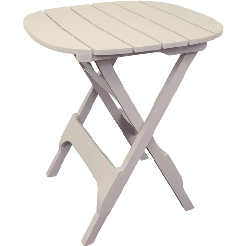 Adams Outdoor Bistro Table, Desert Clay