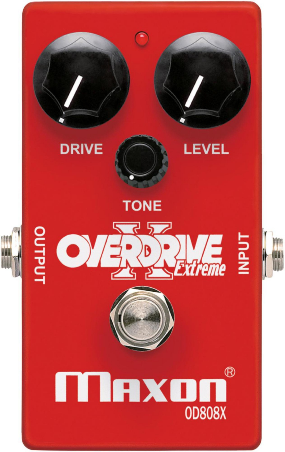 Maxon Overdrive Extreme Guitar Effects Pedal Red by Maxon