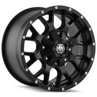 "Mayhem 8015 Warrior 20x10 6x135/6x5.5"" -25mm Matte Black Wheel Rim 20"" Inch"
