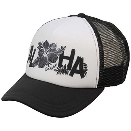 - dakine aloha women's trucker hat - black