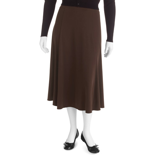 George Easy Wear Collection Women's Plus-Size Skirt