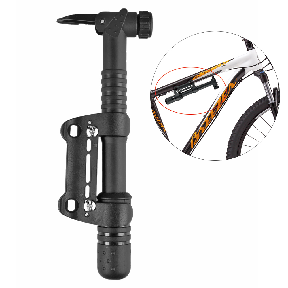 Mini Bicycle Pump Frame Mounted Cycling Air Tire Tyre Hand ...