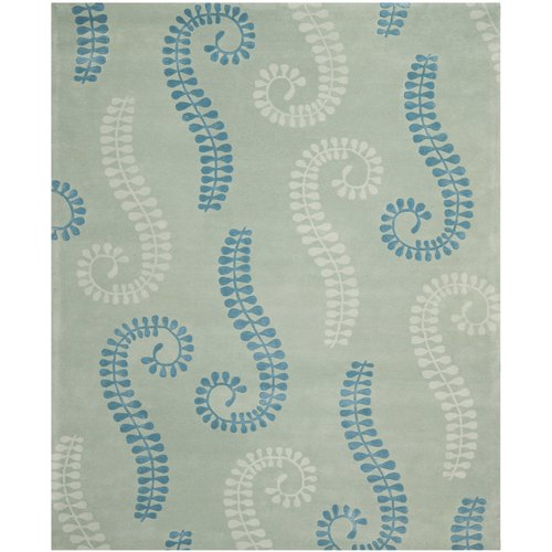 Safavieh Capri Silver / Light Blue Area Rug