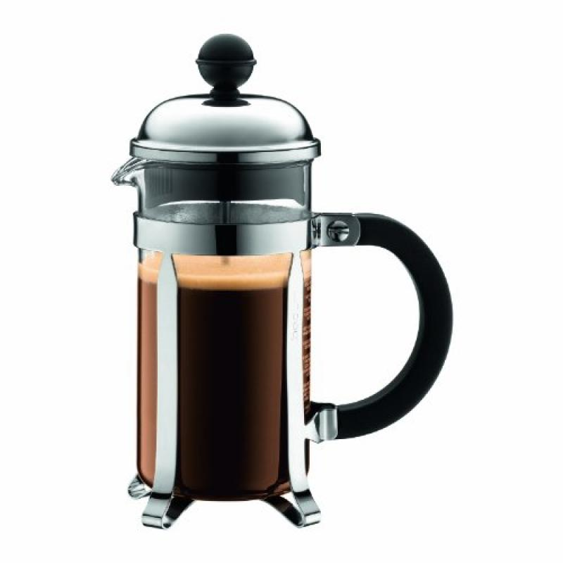Chambord Coffee Maker 3 Cup 0.35 Liter 12 Ounce Shiny