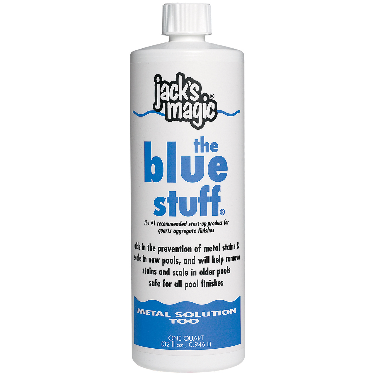 2 Pack-Jack's Magic The Blue Stuff Prevents Stain & Scale For Swimming Pools