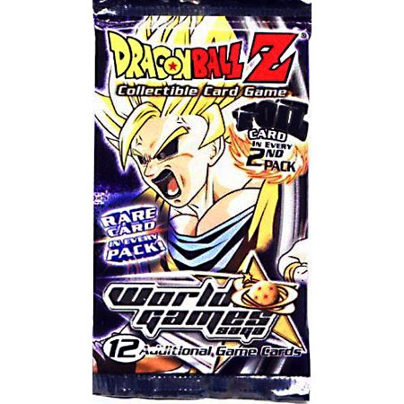 Dragon Ball Z Collectible Card Game World Games Saga Booster Pack - World Z