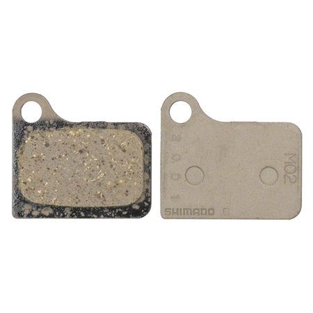 Shimano M02 Resin Disc Brake Pads and Spring for Deore M555 Calipers