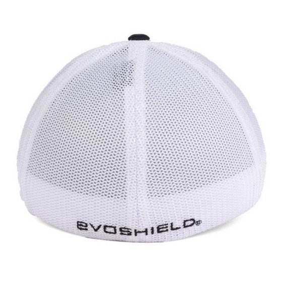 af66cc1e6edaa EvoShield USA Flexfit Trucker Hat-Navy White Mesh L XL - Walmart.com