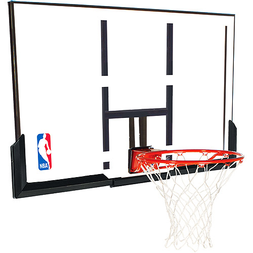 "Spalding 79307 NBA Backboard/Rim Combo 52"" Acrylic Backboard"