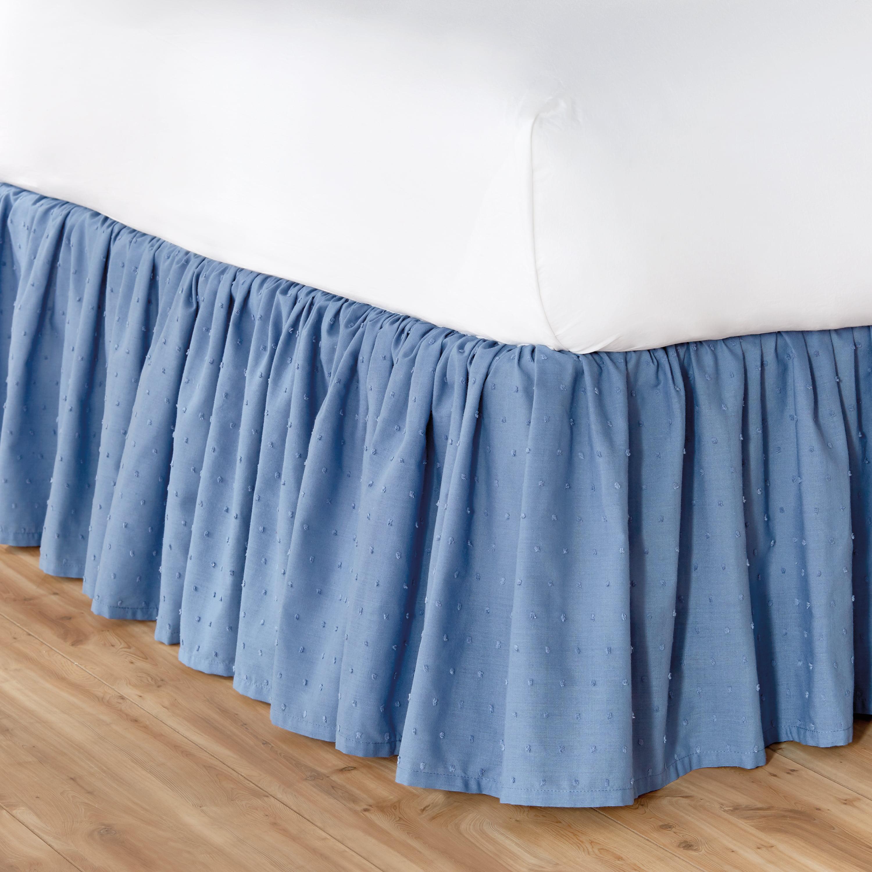 The Pioneer Woman Breezy Dot Bedskirt