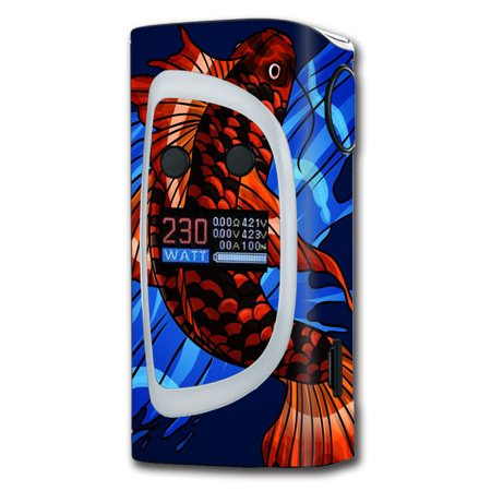Spectrum Koi (Skin Decal For Sigelei Kaos Spectrum Vape Mod / Koi Fish)