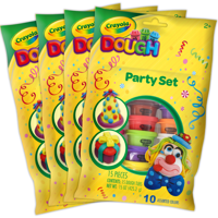 Crayola Dough Mega 60 Count Party Pack with 10 Colors, 60oz - Walmart Exclusive