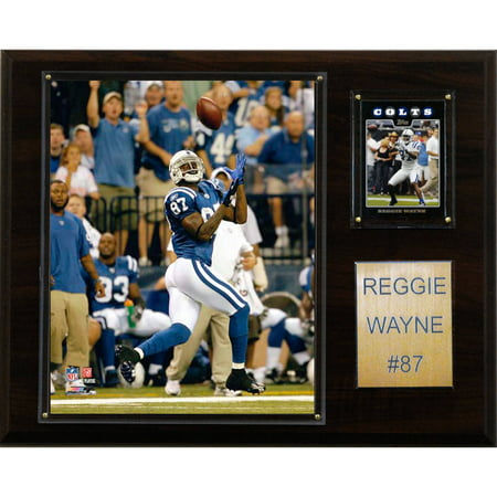 Reggie Wayne Nfl - C&I Collectables NFL 12x15 Reggie Wayne Indianapolis Colts Player Plaque