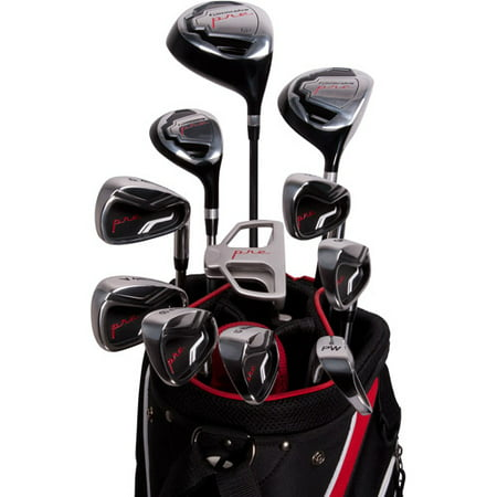 Pinemeadow Golf PRE Men's 16pc Golf Set, Right Handed