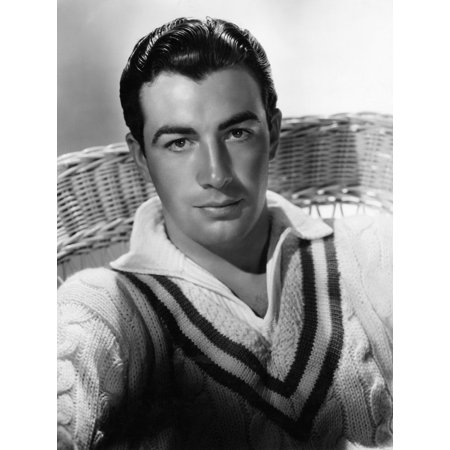 Robert Taylor Mgm Portrait By Hurrell Ca 1935 Photo Print